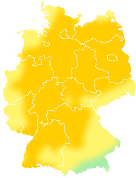 Wettervorhersage Deutschland Wetter Auf Süddeutschede
